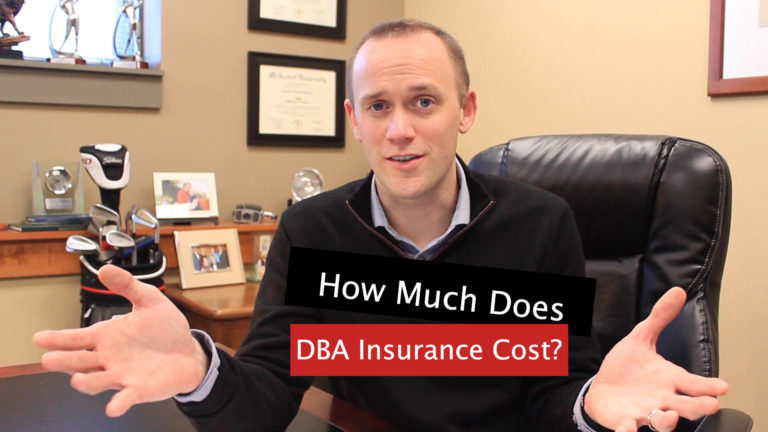 How Much does DBA Insurance Cost