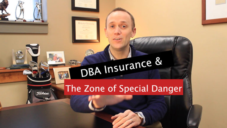DBA Zone of Special Danger